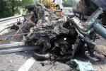Wypadek drogowy na 95 km autostrady A4
