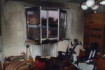 Pożar mieszkania w budynku jednorodzinnym w Chojnowie